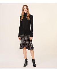 Tory Burch Black Indie Skirt