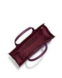 Tory Burch - Purple Ella Packable Tote - Lyst