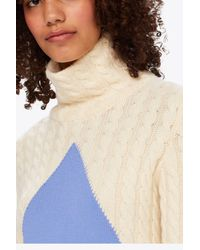 Tory Burch - White Nel Sweater | 104 | Pullovers - Lyst