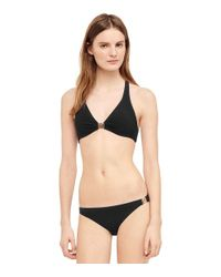 Tory Burch - Black Logo Bottom - Lyst