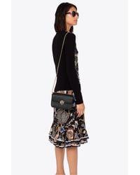 Tory Burch Black Chelsea Leather Mini Bag
