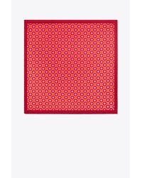 Tory Burch - Pink Octagon Neckerchief - Lyst