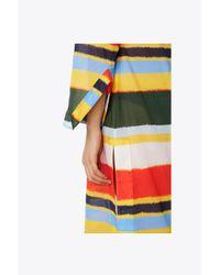 Tory Burch - Multicolor Printed Stephanie Beach Caftan - Lyst