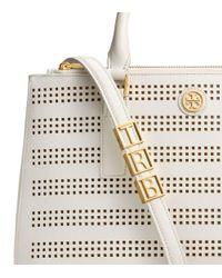 Tory Burch - White Robinson Handbag Charm - Lyst