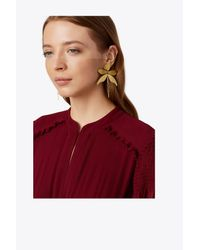 Tory Burch - Multicolor Articulated Dragonfly Earring - Lyst