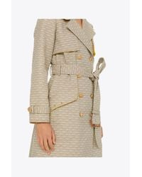 Tory Burch Multicolor Gemini Link Trench Coat