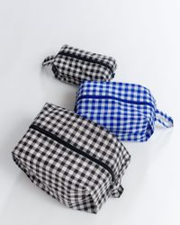 Baggu Blue 3d Zip Set