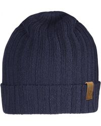 Lyst - Fjallraven Byron Hat Thin in Blue for Men 4569d8b1fa49
