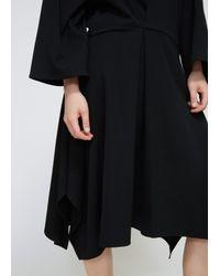 Dusan Black Easy Square Dress