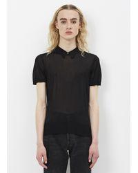 Toga - Black Bright Knit Top - Lyst