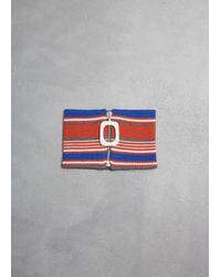 J.W. Anderson Multicolor Stripe Neckband