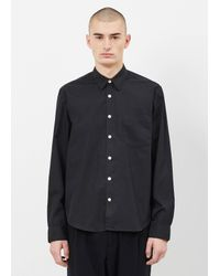 Our Legacy | Black Poplin First Shirt for Men | Lyst