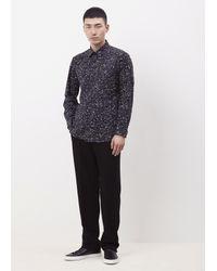 Issey Miyake Black Color Dust Speckle Shirt for men