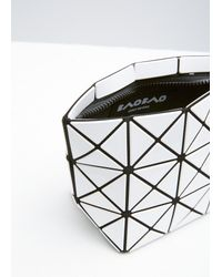 Bao Bao Issey Miyake - White Prism Shiny Small Pouch - Lyst