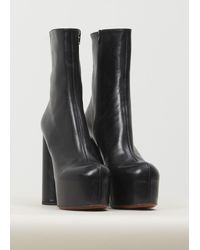 Vetements Black Platform Boots
