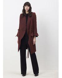 Ann Demeulemeester Black Asymmetrical Shirt