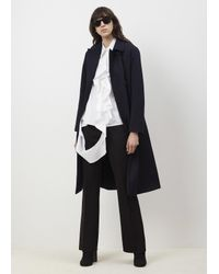 Ports 1961 Blue Navy Double Breasted Coat
