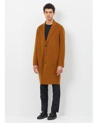 Acne | Brown Charles Coat for Men | Lyst