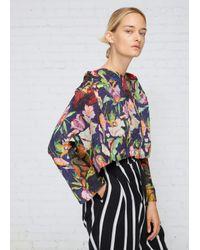 Anntian | Multicolor Print E Shawly Top | Lyst
