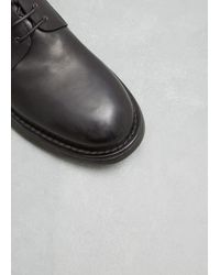Marsèll Black Nero Cetriolo Derby for men
