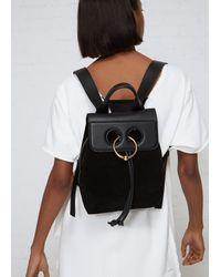 J.W. Anderson - Black Mini Pierce Backpack - Lyst