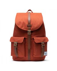 Dawson Picante Crosshatch Sac à dos Herschel Supply Co. en coloris Red