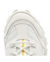 Caterpillar Intruder Triple White Trainers for men