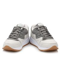 Saucony - Gray Grey Grid 8000 Trainers - Lyst