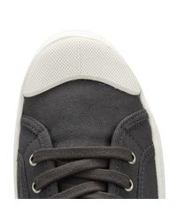 Palladium - Black Asphalt Pallaphoenix Og Canvas Trainers Men's Shoes (trainers) In Black for Men - Lyst