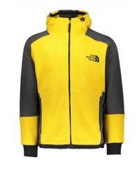 The North Face Yellow 94 Rage Classic Zip-up Techno Hoodie for men