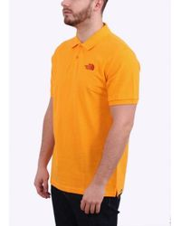 The North Face | Orange Polo Piquet for Men | Lyst