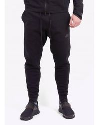 Nike - Black Tech Knit Pant for Men - Lyst