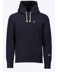Champion | Blue Hooded Sweatshirt for Men | Lyst