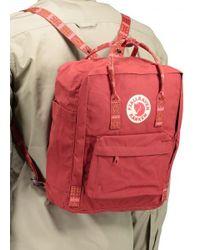 Fjallraven - Kanken Backpack Red Men's Backpack In Red for Men - Lyst