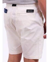 Manastash - White Flex Climb Shorts for Men - Lyst