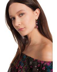 Trina Turk - Multicolor Confetti Stone Drop Earring - Lyst