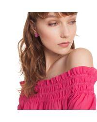Trina Turk - Pink Hollywood Hills Stud Earrings - Lyst