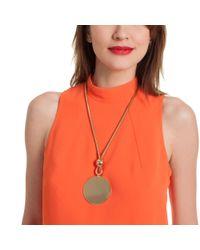 Trina Turk - Multicolor Bold Pendant Necklace - Lyst