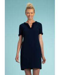 Trina Turk Blue Vibrant Dress