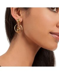 Trina Turk - Metallic Gypsy Double Drop Earring - Lyst