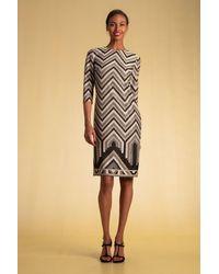 Trina Turk Multicolor Becket Dress - Multi / 14
