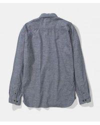 Camicia in cotone grigio melange di Norse Projects in Gray da Uomo