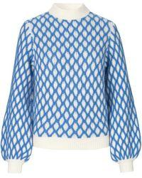Carlo Blue Knit Stine Goya
