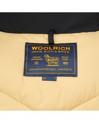 Woolrich Multicolor Large Stag Wool And Cotton Parka for men
