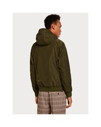 Scotch & Soda Army Hooded Short Jacket in Green für Herren
