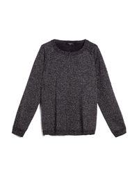 Pull gris foncé en laine Garonna Weekend by Maxmara en coloris Gray