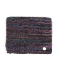 Evidenziare la sciarpa blu scuro screziato di Folk in Blue da Uomo