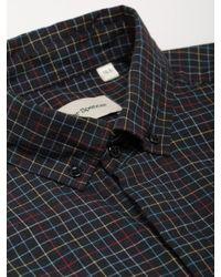 Camisa Multi Aston Powell Oliver Spencer de hombre de color Black