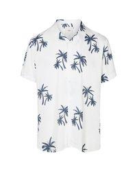 Camicia bianca Emanuel 6930 di Minimum in White da Uomo
