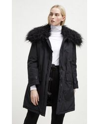 Utilidad Parka Marlow Negro French Connection de color Black